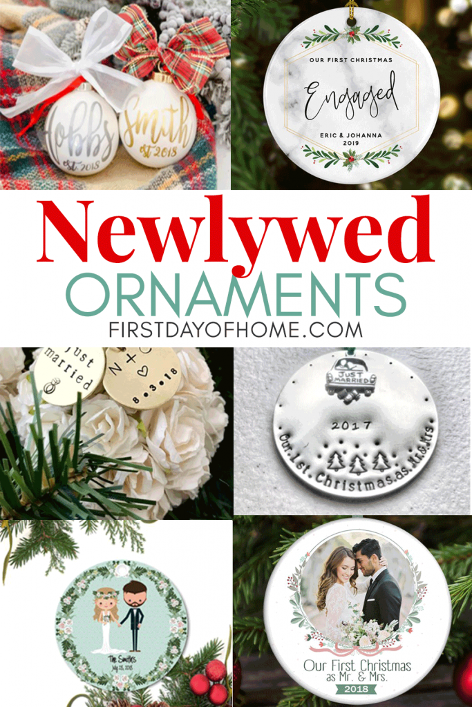 Newlywed ornament ideas