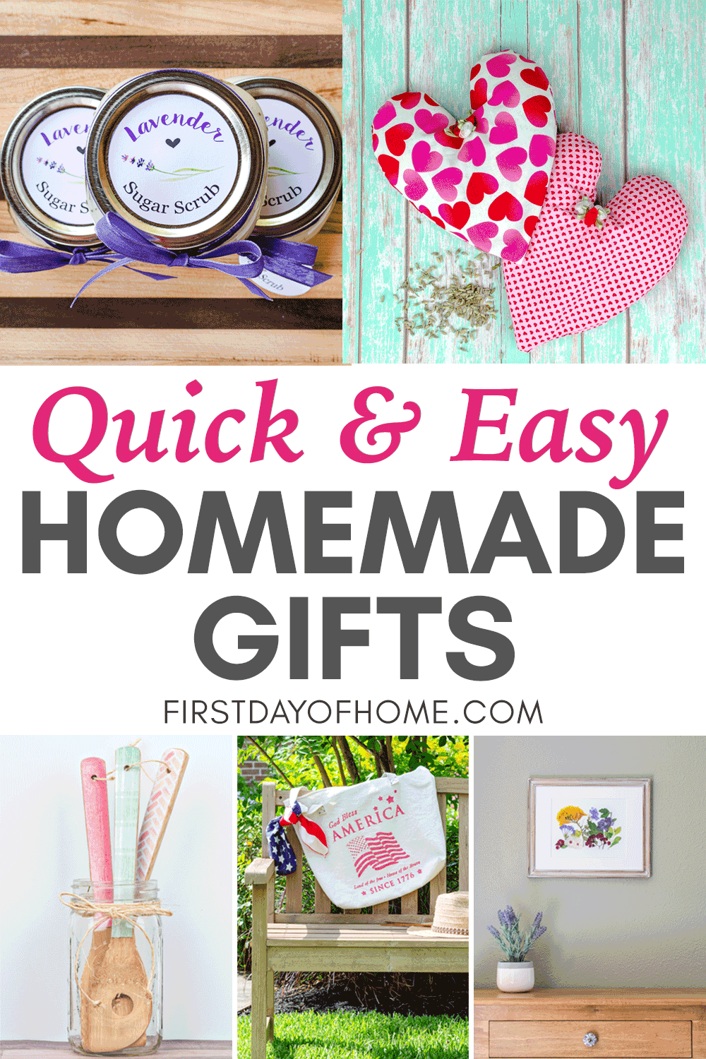 Easy DIY gifts that are homemade and easy to do