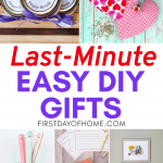 Last minute DIY gifts to make