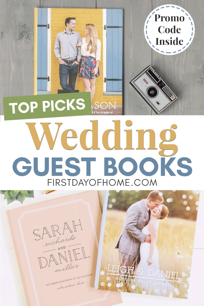 Wedding guest books - top picks from Basic Invite