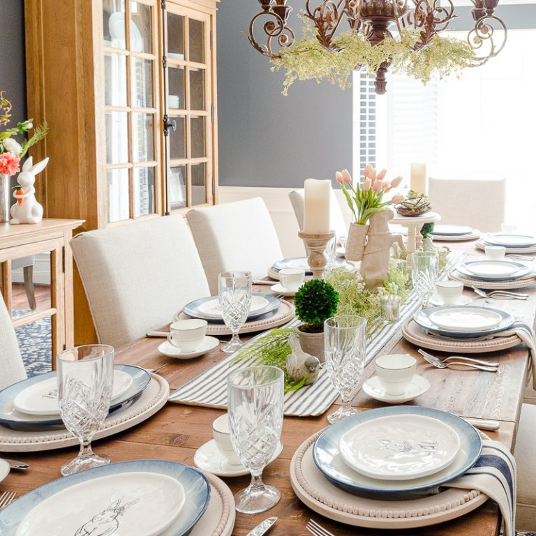 Table Decor for Spring to Inspire You This Year