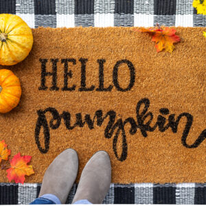 How to Make a DIY Doormat with Cricut or Cameo