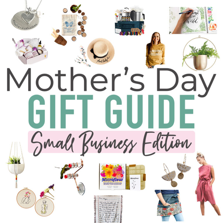 Mother's Day Gift Guide 2021 – Small Business Edition