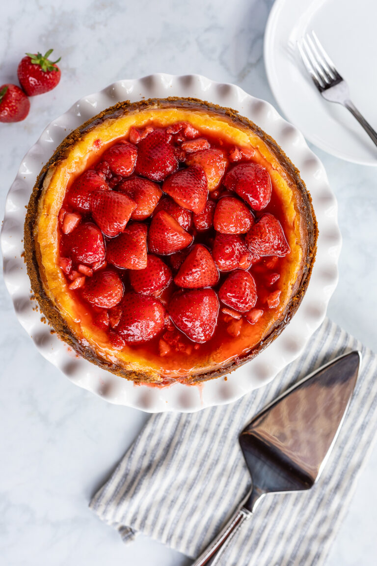 Easy Strawberry Cheesecake Recipe